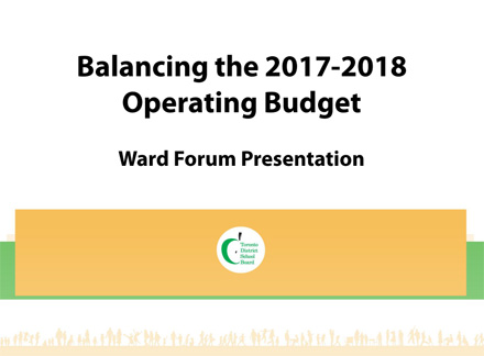Ward forum presentation