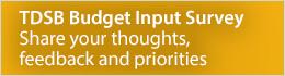 Budget Input Survey