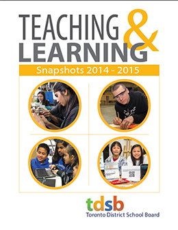 Teaching & Learning Snapshot 2014 - 2015