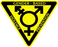 Gender based violence prevention logo