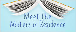 Writers In Residence banner