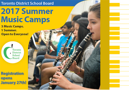 Music Camp Brochure