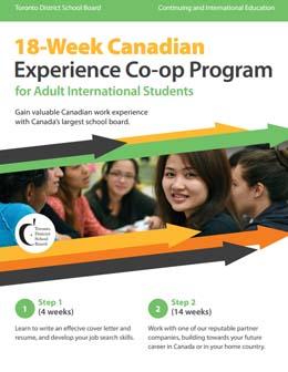 Coop Student Program And Toronto College 9