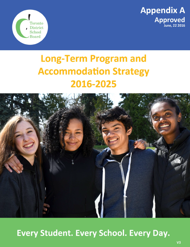 Long-Term Program and Accommodation Strategy 2016-2025