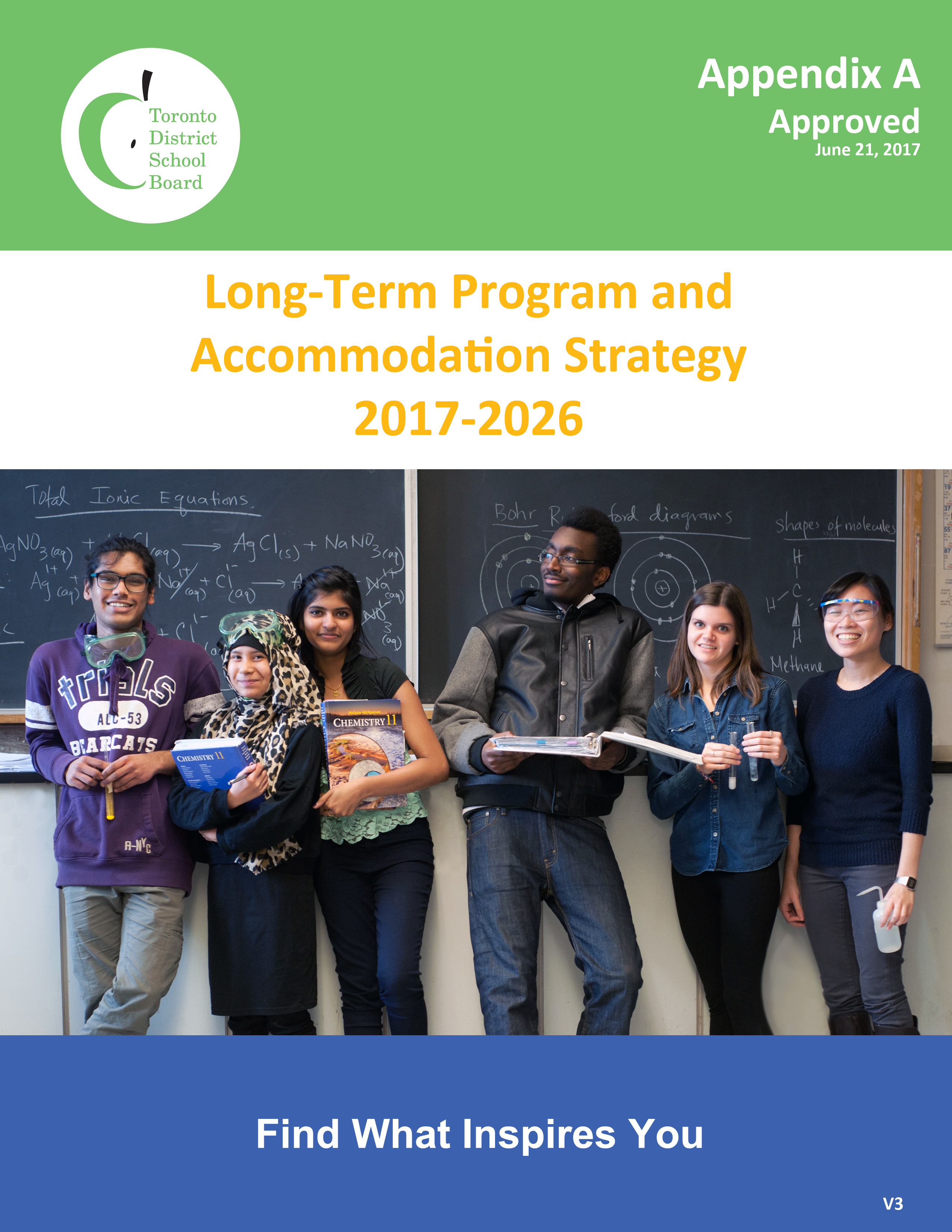 Long-Term Program and Accommodation Strategy 2017-2026