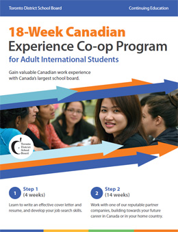 Co-op Programs brochure