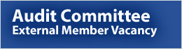 Audit Committee-External Member Vacancy