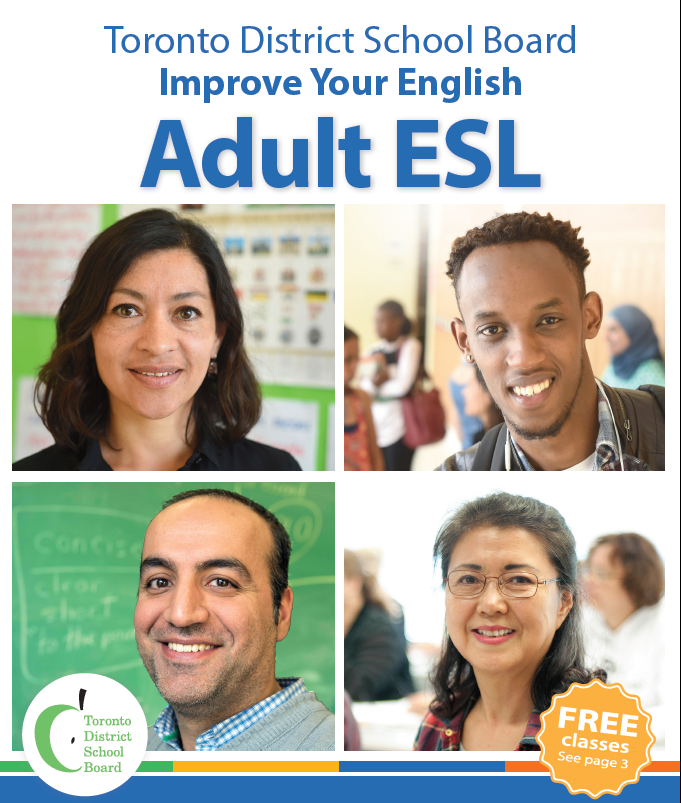 2016 Adult ESL Brochure