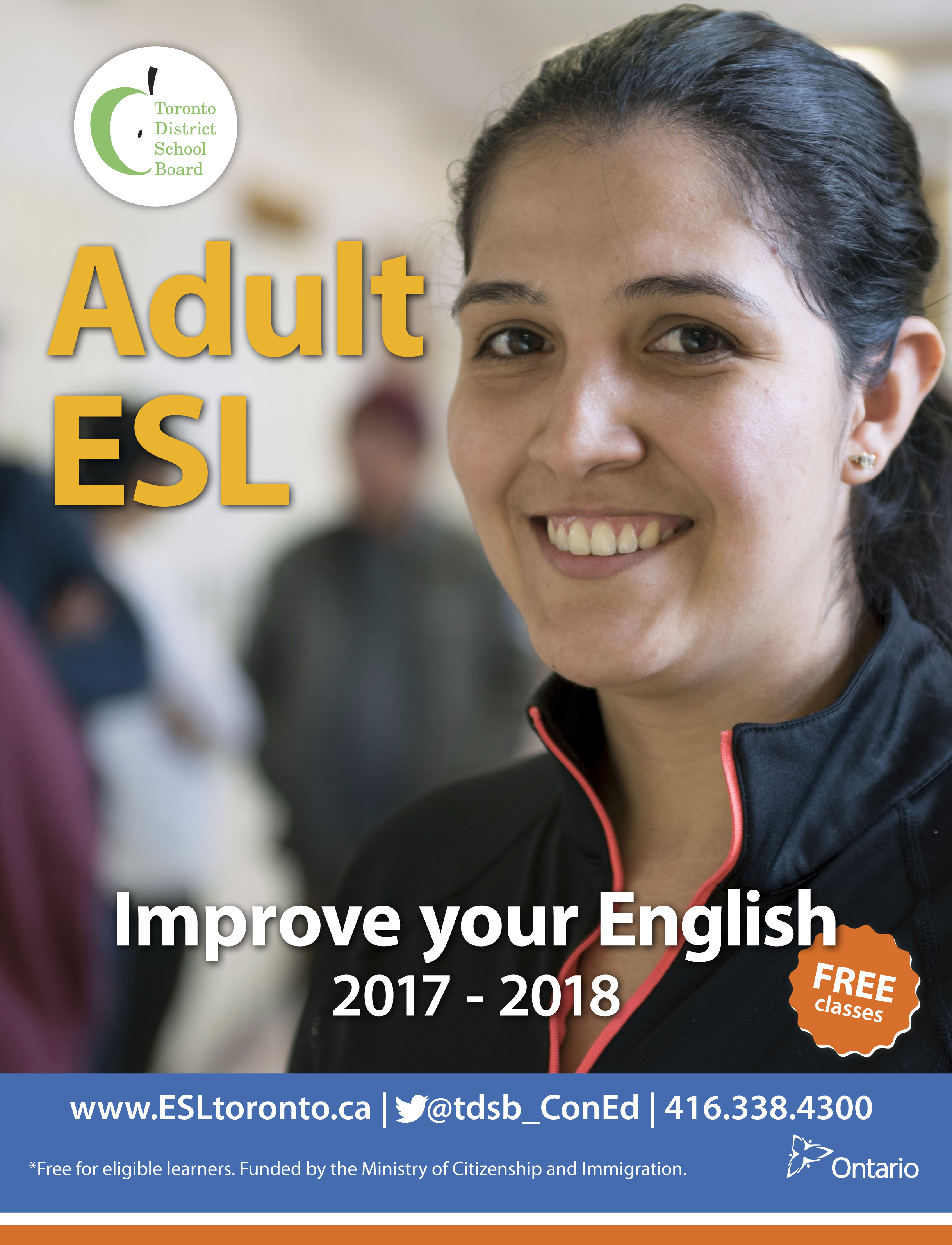 2017 Adult ESL Brochure