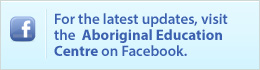 TDSB Aboriginal Education Centre Facebook Link