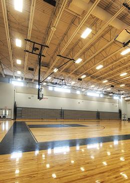permit a gymnasium