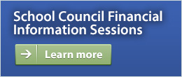 School Council Financial Info Sessions