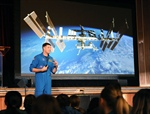 Canadian Astronaut Visits Glen Ames PS to Unveil New Commemorative Stamp
