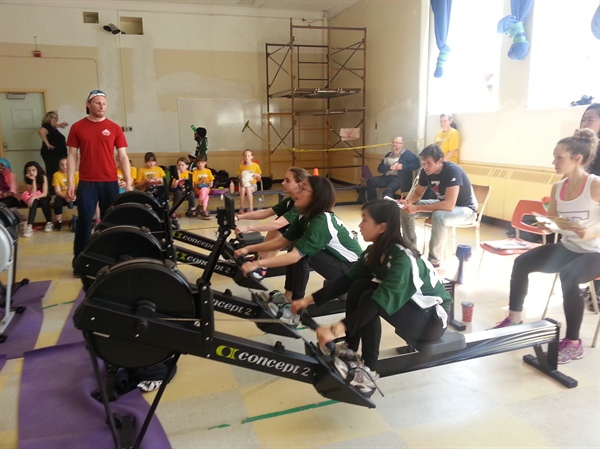 Indoor Rowing Challenge is a Hit