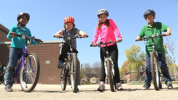 Are you ready to bike to school?