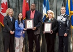 Toronto Emergency Medical Services (EMS) recognizes four members of our staff