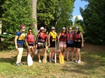 Project CANOE - an all girls wilderness trip to mark the end of the school year