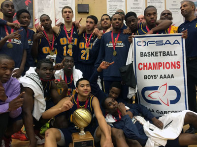 Oakwood CI wins provincial basketball tourney
