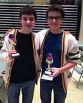 Dublin Heights duo wins first place at city Scrabble championship