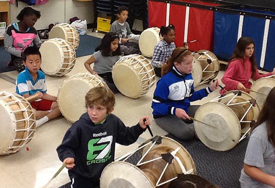 Korean Drumming Program Launched at Broadlands PS