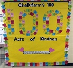 100 random acts of kindness at Chalkfarm PS