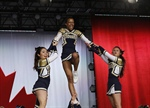 Sir Oliver Mowat Cheerleading Team Wins the Cheer Evolution Nationals