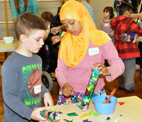 Students with special needs share creativity, strengths, abilities