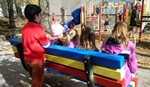 Roden Public School, Equinox Holistic Alternative School launch Buddy Bench