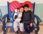 White Haven PS Receives Friendship Bench