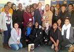 Award-winning author Lawrence Hill visits Harbord CI during African Heritage Month