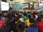 David Lewis PS Students Spend a Day with Award-Winning Author