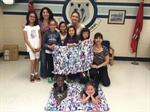 Beverly Glen PS Weaves it Forward