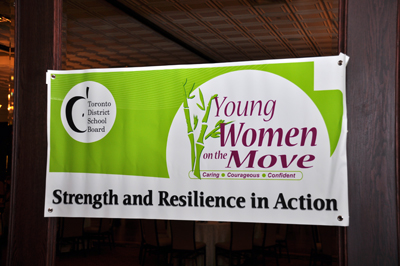 Young Women on the Move banner