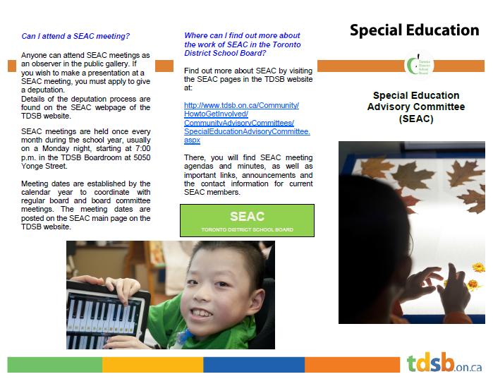 SEAC brochure