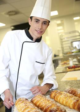 student culinary apprentice