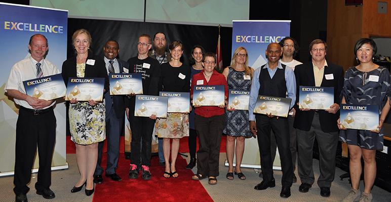 2015 Excellence Awards Recipients