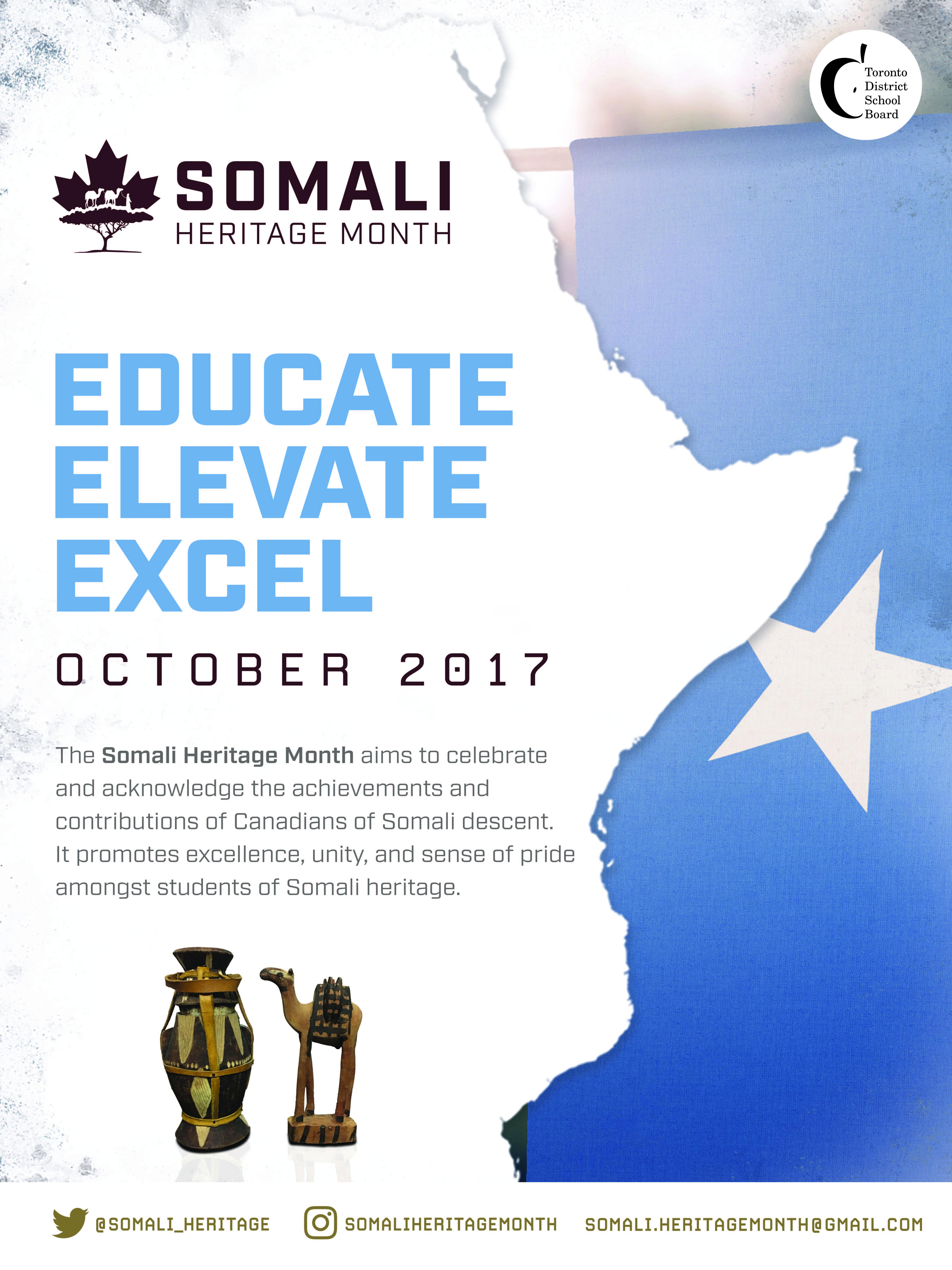 Somali Heritage Month Poster