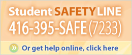 Student Safety Line online submission