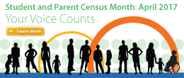 Student and Parent Census April 2017