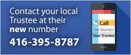 Trustee Phone number: 416-395-8787