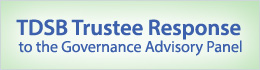 TDSB Trustee Response