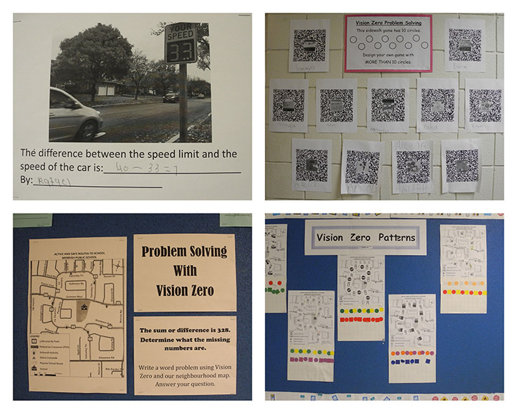 Examples of Morrish PS's math strategy.