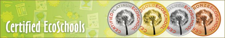 Certified Ecoschools Banner
