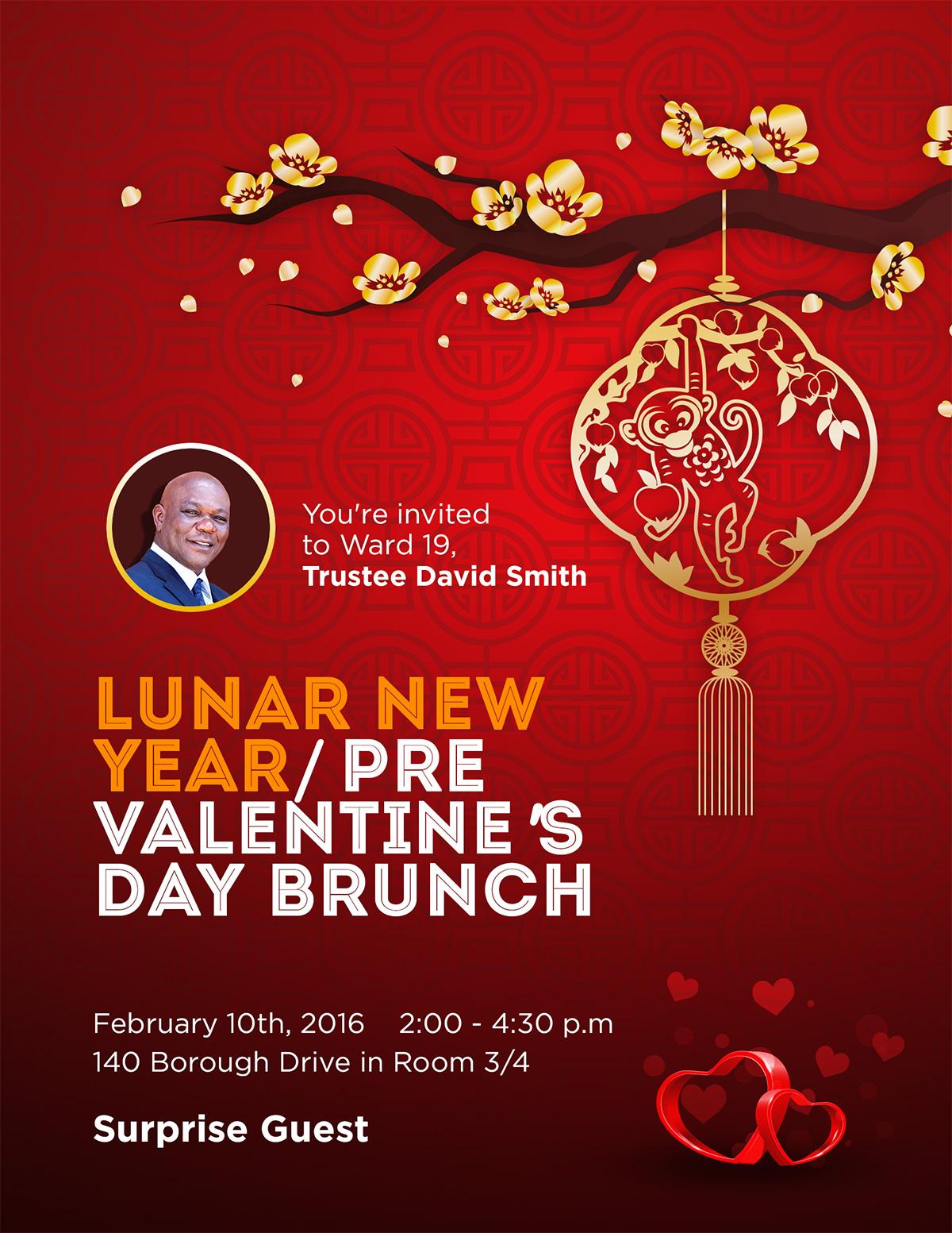 Lunar Year/Pre Valentine's Day Brunch