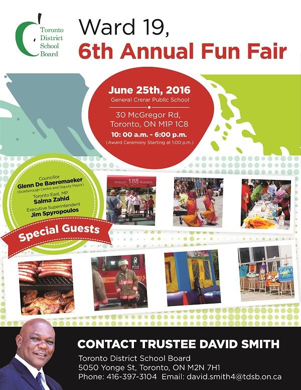 Ward 19 6th Annual Fun Fair