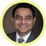 portrait of Zakir Patel
