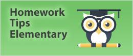 Homework Tips - Elementary