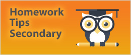 Homework Tips - Secondary