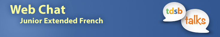 Banner Image - Junior Extended French Webchat