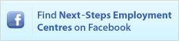 Find Next-Steps Employment Centres on FaceBook